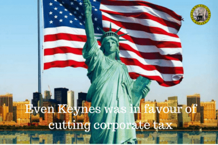 Even Keynes was in favour of cutting corporate tax