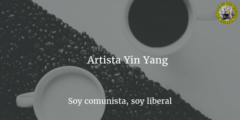 "Artista ""Yin Yang"", soy comunista, soy liberal"